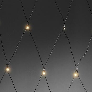 Konstsmide LED Lichternetz mit Lichtsensor (3727-100)