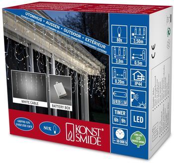Konstsmide LED Eisregen Lichtervorhang (3739-102)