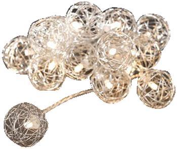 Konstsmide LED Dekolichterkette Drahtkugeln (3176-103)