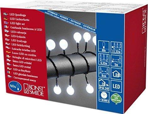 Konstsmide LED Globelichterkette (3696-207)