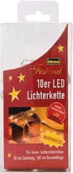 Idena LED Lichterkette 10er klar (8582065)
