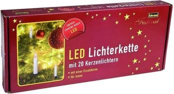 Idena LED-Kerzenlichterkette 20er (8582177)
