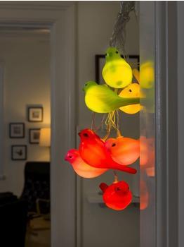 Konstsmide LED Dekolichterkette bunte Vögel (1476-503)