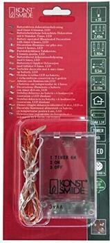 Konstsmide Micro LED Lichterkette (1460-190)