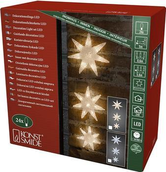 Konstsmide LED-Lichtervorhang Sterne (6136-103)