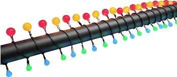 Konstsmide Motiv-Lichterkette Kugeln Außen 80er RGB
