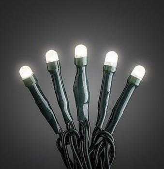 Konstsmide Micro LED Lichterkette 50er warmweiß (6343-120)
