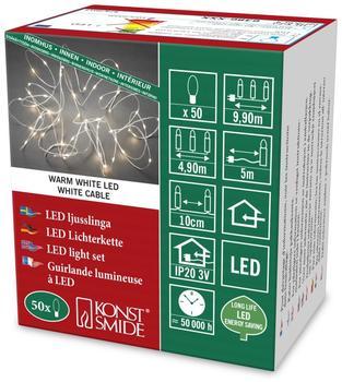 Konstsmide LED Tropfenlametta 50er warmweiß (6386-102)