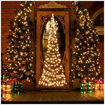 Fairybell LED-Weihnachtsbaum Türhänger