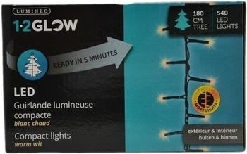 Kaemingk 1-2Glow LED Weihnachtsbaum Lichterkette 540er (495402)