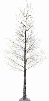 Kaemingk Weihnachtslicht Baum Schnee LED