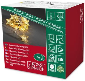 Konstsmide LED Dekokette (3171) gold