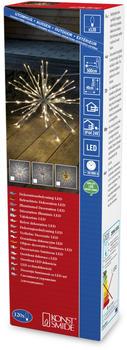 Konstsmide LED Zweigkugel silberfarben (2896-303)