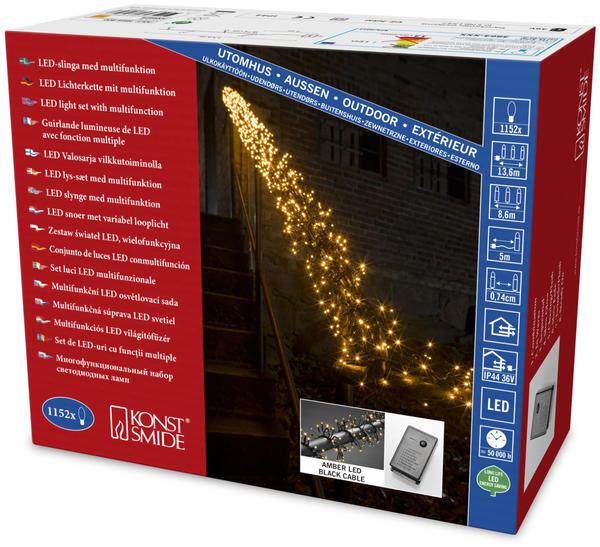 Konstsmide LED-Büschellliechterkette (3864-800)