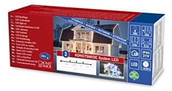 Konstsmide LED System Erweiterung warmeiß/transparent (4810-103)