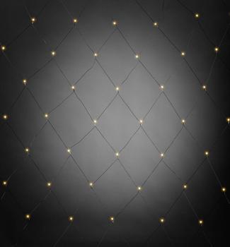 Konstsmide LED Lichternetz bernstein/schwarz (3679-807)