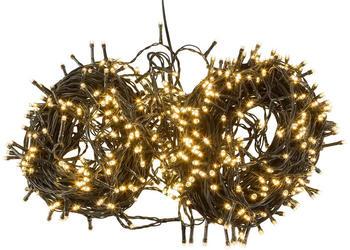 Idena LED Lichterkette Timerfunktion 600er warmweiß (31090)