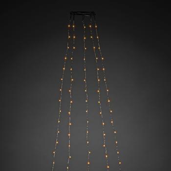 Konstsmide LED Baummantel bernstein (6377-890)