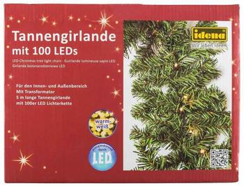 Idena LED Tannengirlande 100er warm-weiß (31814)