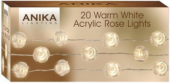 Anika Acrylic Rose String Lights
