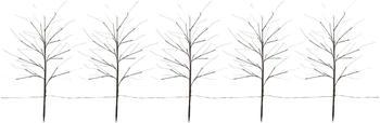 FHS LED-Lichterbaumset mit Erdspieß warmweiß (13462)
