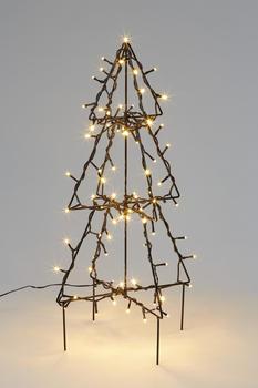 Hellum LED Tannenbaum warmweiß 90 LED