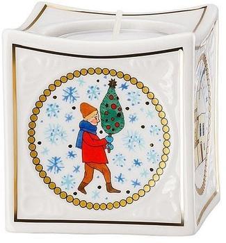 Hutschenreuther Weihnachtsmarkt Porzellan-Licht (02259-727312-27845)