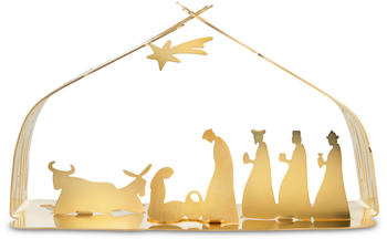 Alessi Bark Crib BM09 GD gold