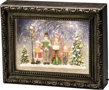 Konstsmide LED Bilderrahmen mit Weihnachtschor (4357-000)