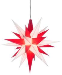 Herrnhuter Bastelstern A1b (13cm) weiß/rot inkl. LED ( 00050345)
