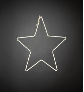 Konstsmide LED-Silhouette Stern LED Weiß (3098-102)