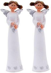 EGLO Eglo Weihnachtsengel 13,5cm weiß silber 2er-Set (41213-2)