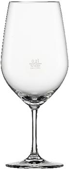 Schott Zwiesel Vina, Bordeauxpokal 130, Bordeauxglas, 6er Set, Rotweinglas, Glas, transparent, 6 Einheiten