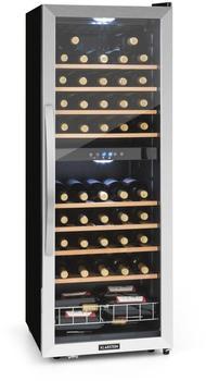 klarstein-vinamour-54d-weinkuehlschrank-2-zonen-148-l-54-flaschen-edelstahlfront