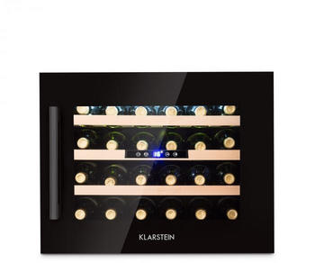 Klarstein Vinsider 24 Onyx Edition Weinkühlschrank Einbaugerät Energieklasse B