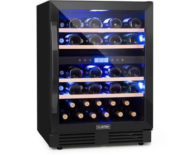 Klarstein Vinovilla Onyx43 Zweizonen-Weinkühlschrank