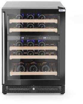 Hendi Weinkühlschrank mit 2 Zonen 145L