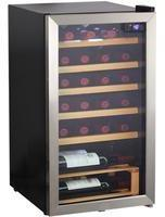 Hanseatic Weinkühlschrank HWC24FCBH, für 24 Standardflaschen á 0,75l
