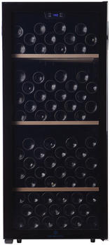 Cavecool Chill Sapphire - 121 Flaschen - 1 zone - Schwarz