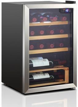 Hanseatic Weinkühlschrank HWC20FCBH, für 20 Standardflaschen á 0,75l
