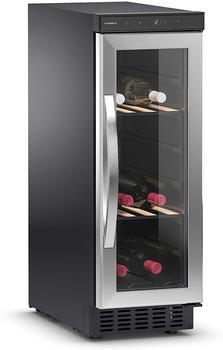 Dometic WAECO Wein-Klimagerät B29G Kompressor-Weinkühlschrank mit Glastür für 29 Flaschen