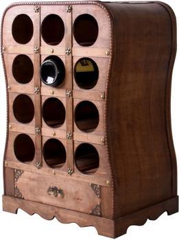 Harms Weinregal im Kolonialstil für 12 Flaschen