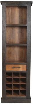SIT Fortezza Weinregal recyceltes Holz 12 Flaschen