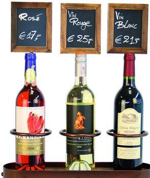Securit Weinflaschenhalter dreifach (DL187)