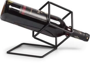 Zeller Weinflaschenhalter, schwarz, Länge: 28 cm