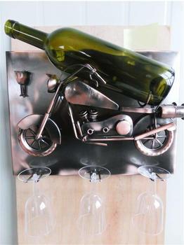 Brubaker Weinflaschenhalter Motorrad