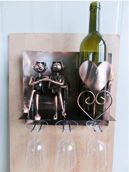 Brubaker Weinflaschenhalter Liebespaar