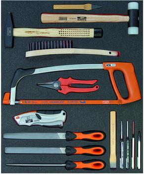 Bahco 15-teilig Zerspanungs- und Schlagwerkzeuge (FF1A07)