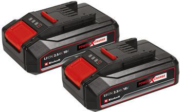 Einhell Power X-Change Akku PXC-Twinpack / 2,5 Ah