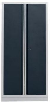 Certeo Flügeltür-Hochschrank Breite 915 mm mit 2 Flügeltüren